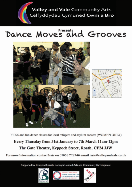 Dance moves and grooves