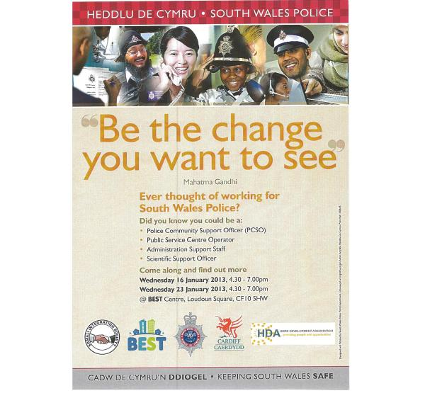 recruitment  openday for south wales  police